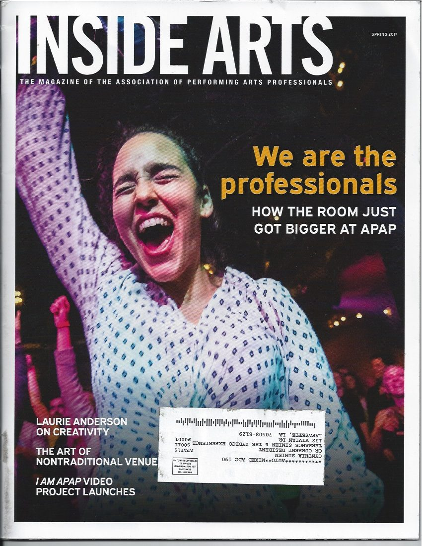 InsideArts cover